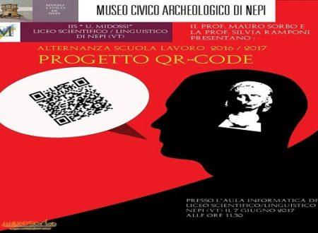 Il progetto Qr-Code, a cura degli alunni dei licei di Nepi