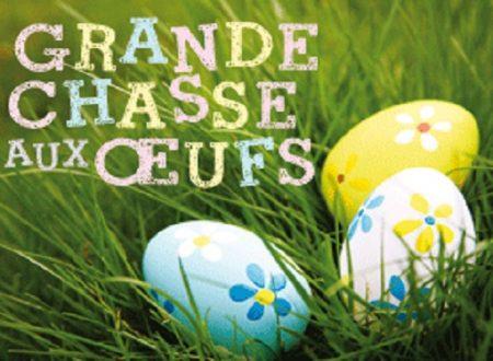 Joyeuses Pâques: la chasse aux œufs de Pâques et la recette des Brassadeaux